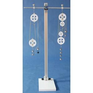 滑軌式滑輪組實驗器
