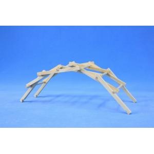 交叉式拱橋材料包
