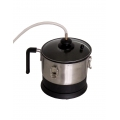 Safe steam pot plus hot pan (separated base)