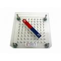 三層磁針式磁場和磁力線顯式儀