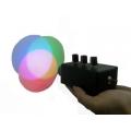 簡易型三原色光加法混色投射器