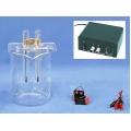 Platinum electrode electrolysis device