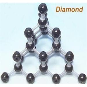 鑽石分子模型
