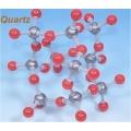 石英分子模型