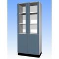 器材櫃(上玻下木門標準型)