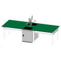 雙水槽耐酸鹼實驗桌(鋼製結構)