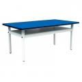 實用型工作桌(方型鐵管腳架)