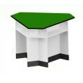 三角型功能桌