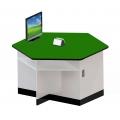 六角型功能桌