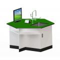 六角型單水槽桌