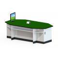 長型八角功能桌