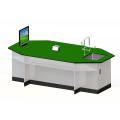 長型八角單水槽桌