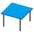 正方形工作桌
