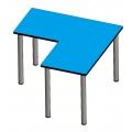 L形工作桌