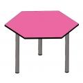 六角形工作桌