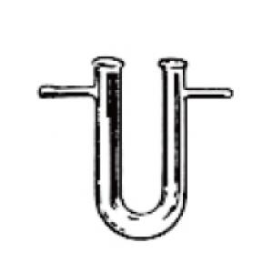 附支U形乾燥管ψ15×150mm