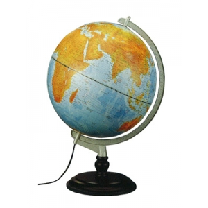 海洋地形行政地球儀(12吋)
