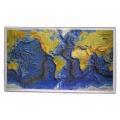 世界海陸立體地形模型