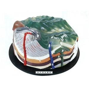 地質構造模型