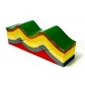 褶皺地形模型