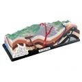 火山地質模型