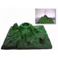 火山地形及噴發實驗模型