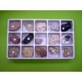 沈積岩標本組(15種)