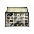 岩石與造岩礦物標本(24種)