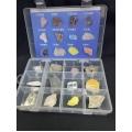基本岩石礦物標本A