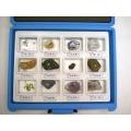 礦物解理標本(12種)