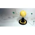 太陽系與九大行星模型