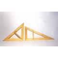 大型三角板-木製