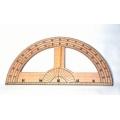 大型量角器(木製)