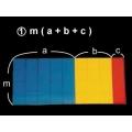 m(a+b+c)面積因數分解說明教具