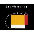 (A+B)(a-b)面積因數分解說明教具