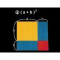 (A+B)2面積因數分解說明教具
