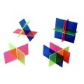 兩平面及三平面交集模型
