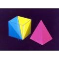 立方體模型組(4件1組)