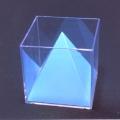 立方體及四方體角錐模型