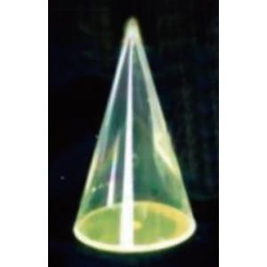 透明圓錐模型