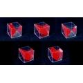 平行六面體與截一角之體積模型