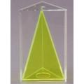 透明三角稜柱體模型 B