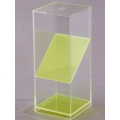 透明四角稜柱體模型 A