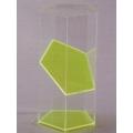 透明六角稜柱體模型 A