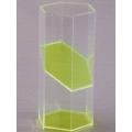 透明五角稜柱體模型 A