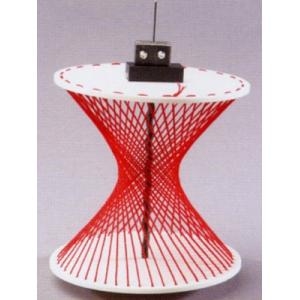 圆柱体双曲线模型