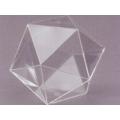 透明二十面體模型 A