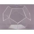 透明十二面體模型 A