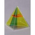 正方形角錐體模型 A