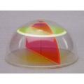 半球體模型(球面和平面相交模型)